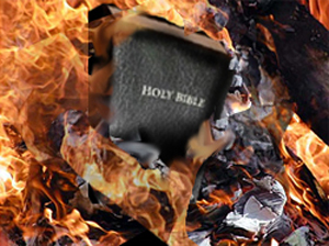 Bible-burning