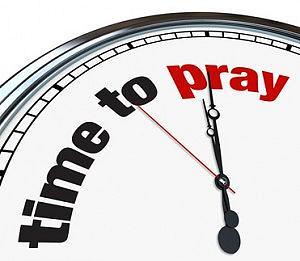 time to pray