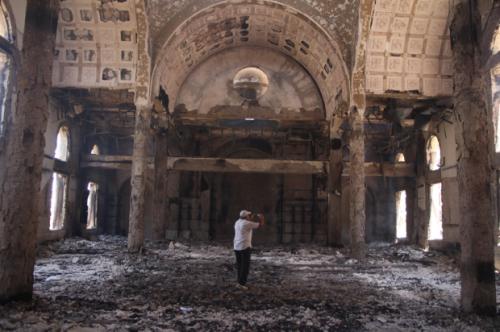 Egypt-burned-church