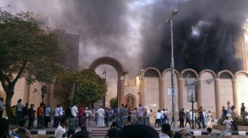 egypt-church-burns
