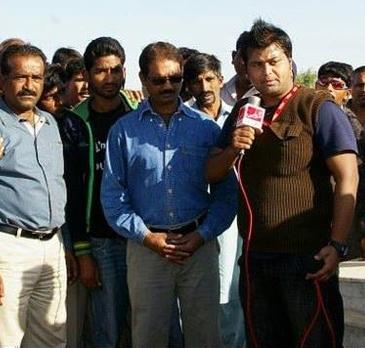 Sunny Gill, Reporter