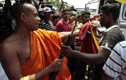 Buddhist-fight
