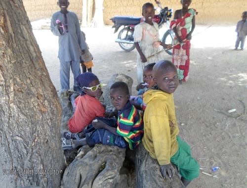 Displaced Christian Children on Christmas Day 2013