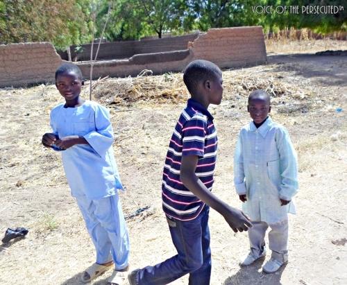 Gavva-West Christian refugee children