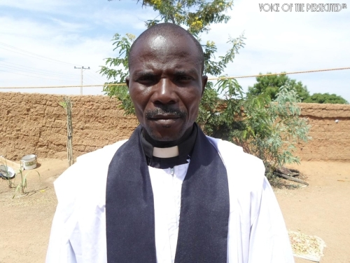 Rev, Yakubu Dzari, Resident Pastor (EYN LCC GAVVA-WEST)