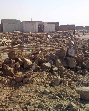 Photo: Sudanese authorities left a Presbyterian Church of Sudan building in ruins in January 2013. (Morning Star News)
