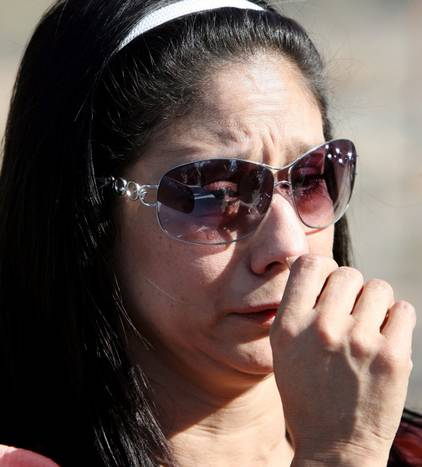 Atheist's focus on AnnMarie Devaney, grieving mother