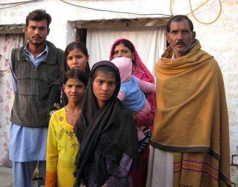 Family of Asia Bibi