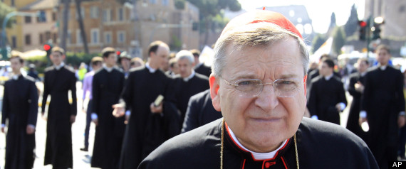 U.S. Cardinal Raymond Leo Burke (AP Photo/Riccardo De Luca)
