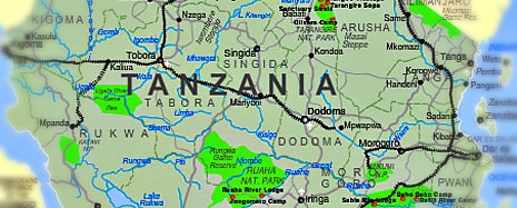 tanzania-maps