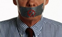 freedom of speech taped