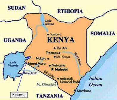 Kenya=Map=
