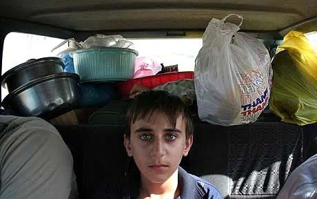 Iraqi-Christians-flee-Mosul