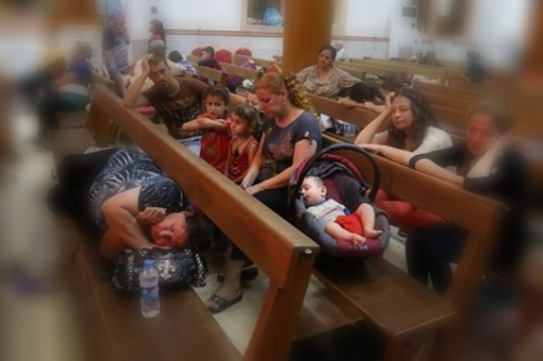 Displaced Iraqi Christians
