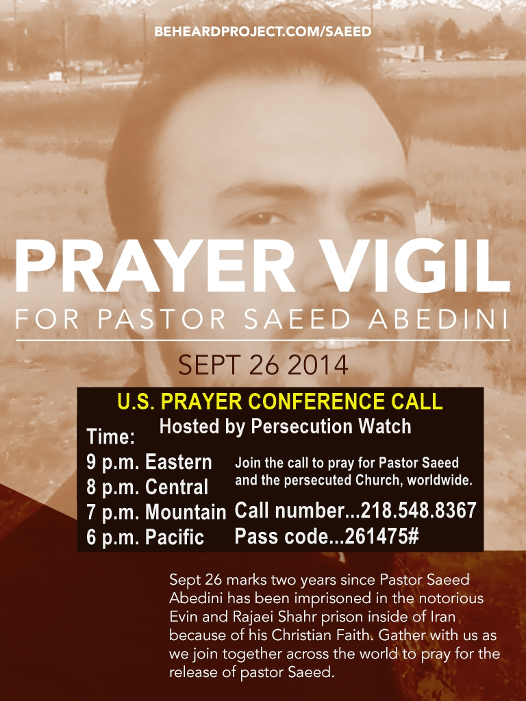 prayer vigil « VOICE OF THE PERSECUTED