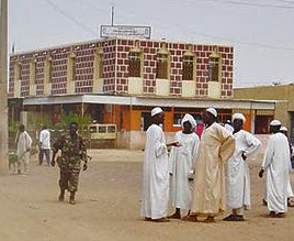 Geneina, capital of West Darfur state, Sudan. (Wikipedia)