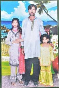 Shazad Masih and his wife Shama Shazad Masih