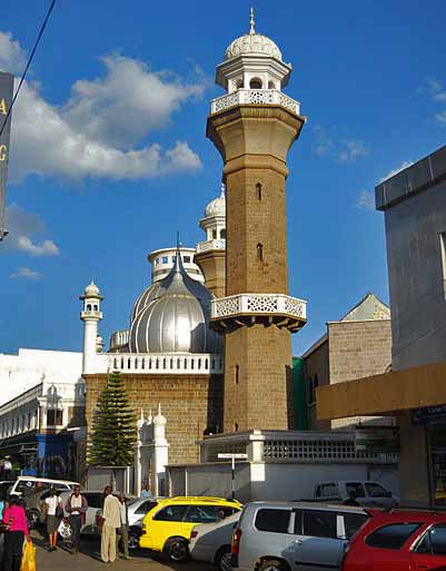 Jamia Mosque in Nairobi, Kenya. (Wikipedia)