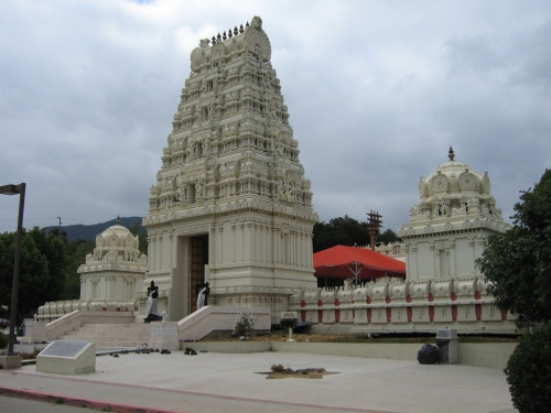 Malibu Hindu Temple  Wikimedia Commons