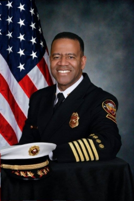 "Kelvin Cochran was terminated from his role as Atlanta Fire Chief in January 2015 after espousing his Christian beliefs in a self-published book, ""Who Told You That You Were Naked?"" and sharing it with employees. Photo: Courtesy of the City of Atlanta"