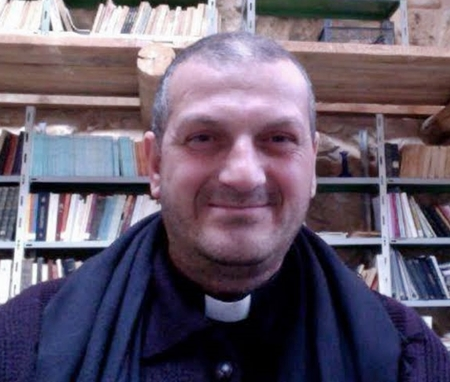 Father Jacques Mourad with the Syriac Catholic Church abducted