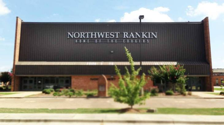 Photo: Northwest Rankin High School in Flowood, Rankin County, Mississippi. Photo: Northwest Rankin High School Facebook