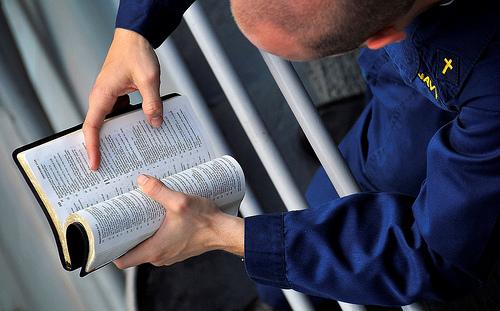 navy -bible