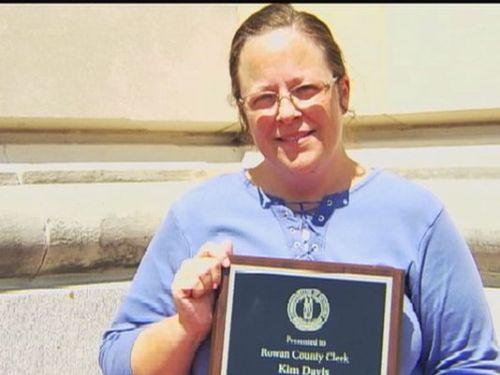 Rowan County Clerk, Kim Davis