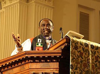 The Rt. Rev. Benjamin Kwashi, archbishop of Jos. (The Living Church)