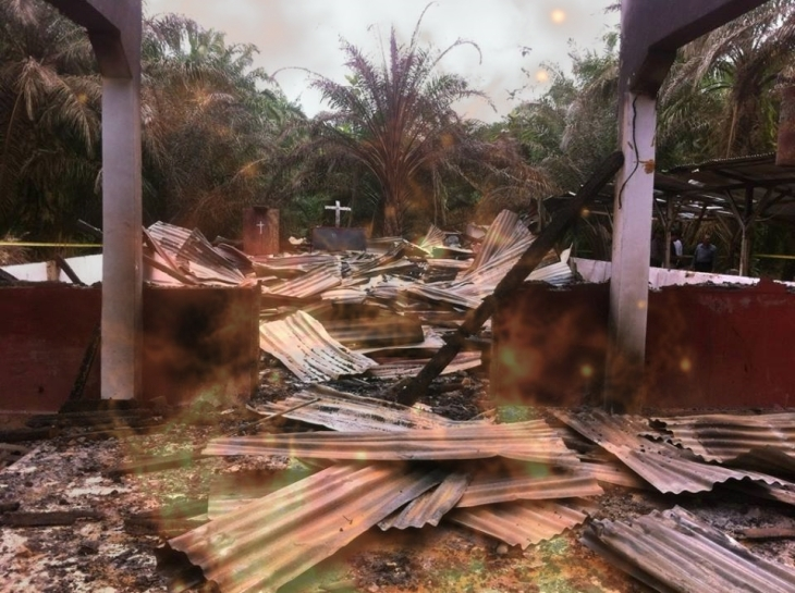 Tensions raised as multiple churches in Aceh Singkil, Indonesia burned down by mob of radical Islamists