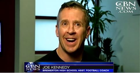 High school football coach Joe Kennedy has been put on paid administrative leave for praying