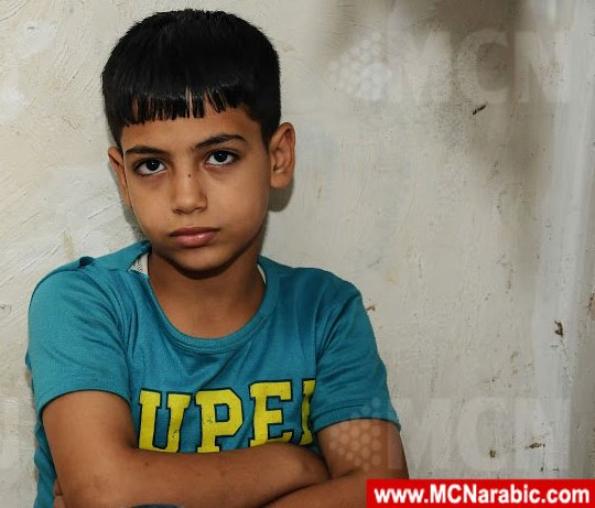 10-year-old Babawi Farag in better times.