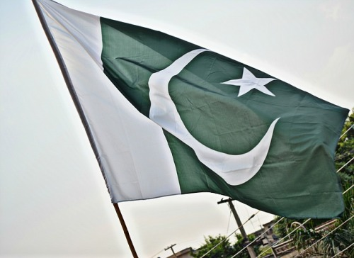 "The campaign ""Green for White"", with reference to the Pakistani flag, where green indicates the Muslims and white religious minorities."