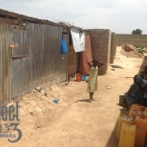 Persecuted Nigerian Christians in camp