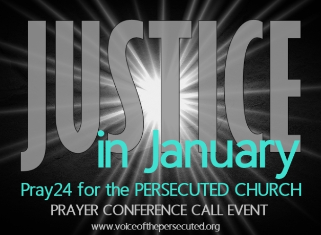 24 HOUR PRAYER CONFERENCE CALL EVENT Friday, Jan. 29-Saturday, Jan. 30