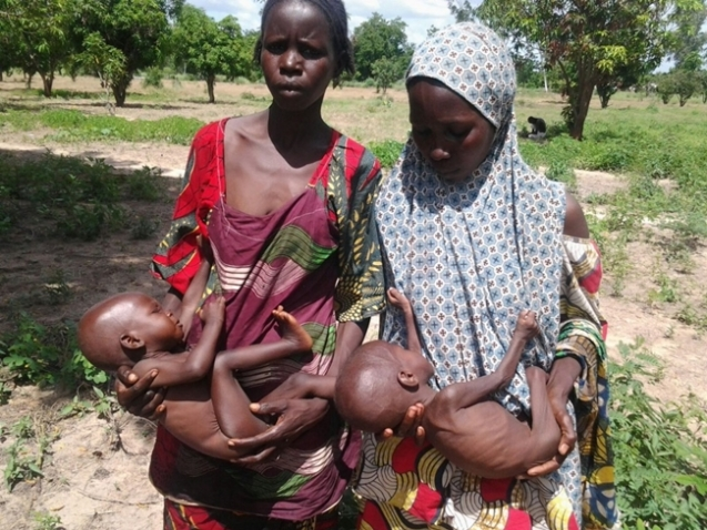 In September 2015, the Nigerian Army released photos of rescued emancipated victims.