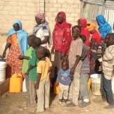 Clean water at their location flows freely