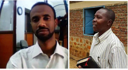 Pastors Telal Rata (left) and Hassan Taour have been detained incommunicado and with no charges. World Watch Monitor