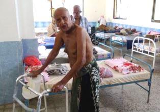 Elderly survivors of the gruesome attack.