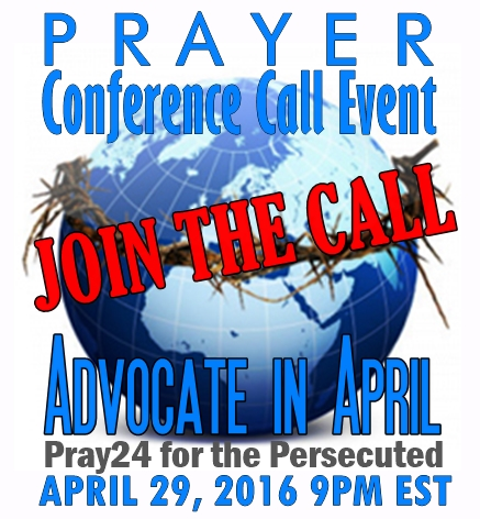 April Prayer call2016