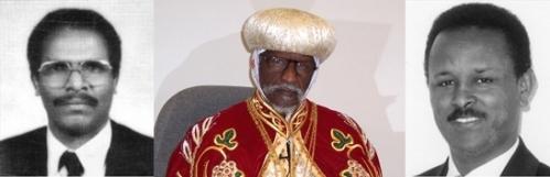 Kiflu Gebremeskel, Patriarch Abune Antonios, Haile Naigzhi Photos: World Watch Monitor