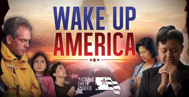 2016 National Day of Prayer (Theme: WAKE UP AMERICA)