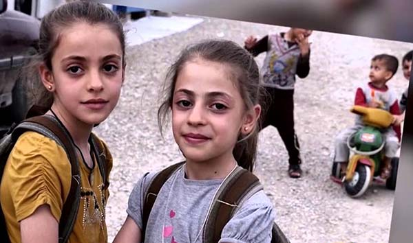 Syrain Christian refugee children