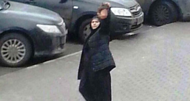 Muslim nanny waves severed head of 4-year-old Russian girl.