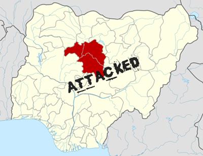 Kaduna state, Nigeria. (Wikipedia, Himalayan Explorer based on work by Uwe Dedering)