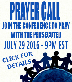 VOP JULY 2016 Prayer Conference Call Event