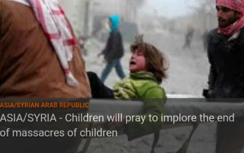 Oct. 6th, 2016 PRAY WITH THE CHILDREN OF ALEPPO