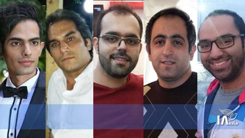 L to R: Mohammad Dehnavi, Hadi Asgari, Amin Afshar Naderi, Ramil Bet-Tamraz and Amir Dashti. MEC / Article 18