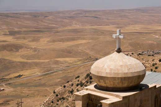St. Matthew's monastery falls halfway between Mosul and Iraq's Kurdistan. World Watch Monitor