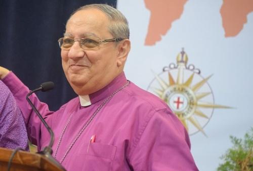 Archbishop   Mouneer Anis.  Michael Adel, Bridges Cultural Center